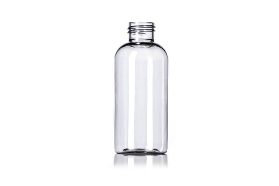Clear Boston PET Bottle – 4 oz