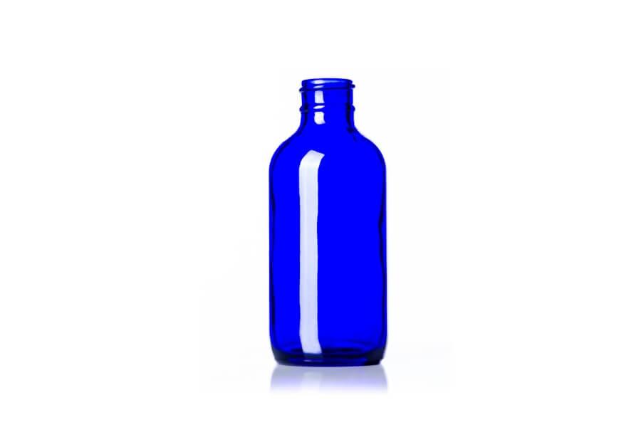 Cobalt Blue Glass Bottle – 4 oz