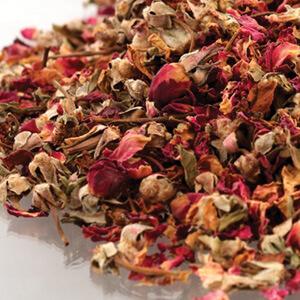 Rosebuds & Petals Red
