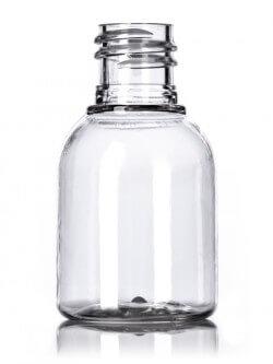 Clear PET Regent Bell Bottles