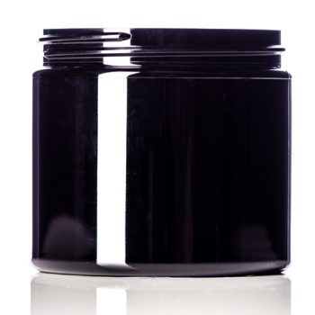 Black Single Walled Jars