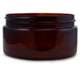 Amber PET Jars Low Profile