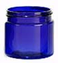 Cobalt Blue PET Single Walled Jars