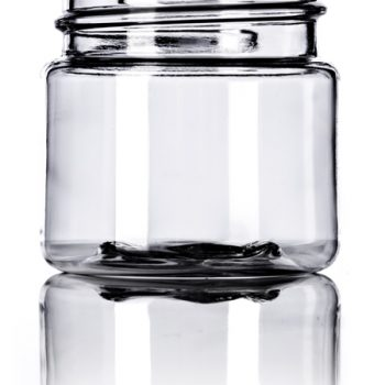 Clear PET Single Walled Jar - 1 oz