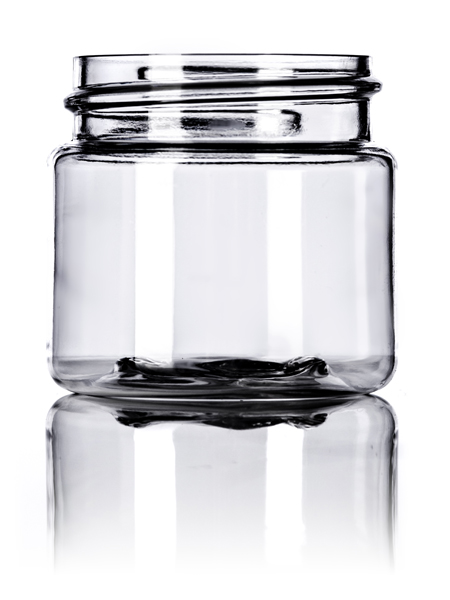 Clear PET Single Walled Jar – 1 oz