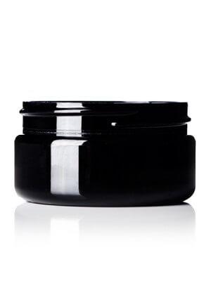 Black PET Jar - 2 oz