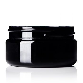 Black PET Jar - 2 oz