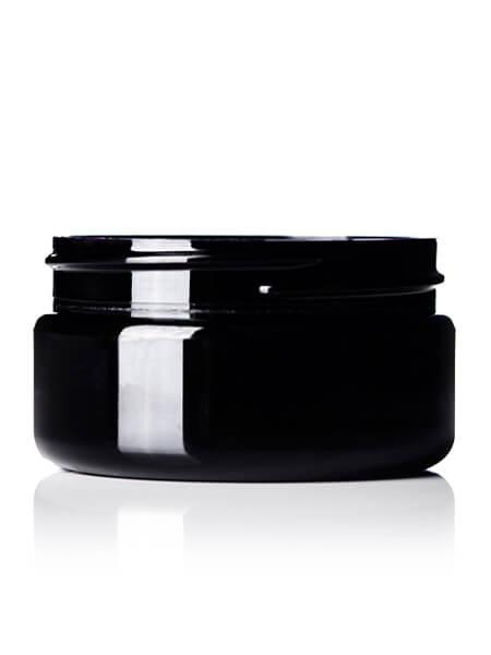Black PET Jar – 2 oz