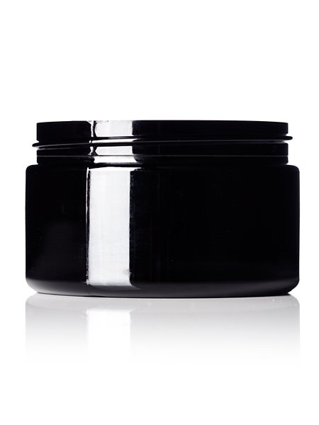 Black PET Jar – 4 oz