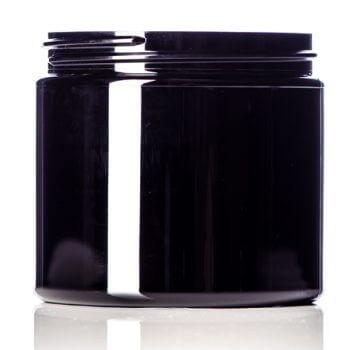 Black PET Jar - 16 oz