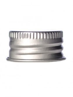 Silver Metal Lid with F217 Liner 24-410