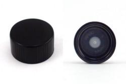 Black Phenolic Lid w/ Polycone Liner 18-400