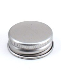 Silver Metal Lid with F217 Liner 28-400