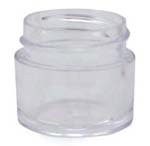 Clear Cosmetic Jar - 1/4 oz