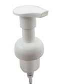 "Foamer Cap - White w/ 4.5"" Tube - 40mm"