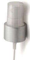 """Silver Matte Fine Mist Sprayer w/ 6 7/8"""" Dip Tube 24-410"""
