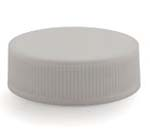 White Ribbed Lid 33-400