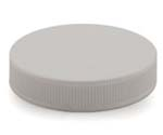 White Ribbed Lid 53-400