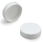 White Smooth Lid 38-400