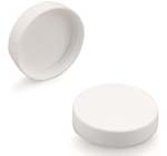 White Smooth Lid 48-400