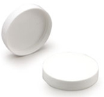 White Smooth Lid 58-400