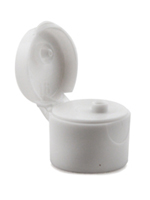White Smooth Snap Dispensing Lid 20-410