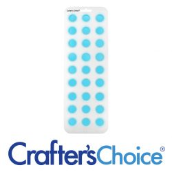 "Crafter's Choice - Round Ball 7/8"" Silicone Soap Mold - 1803"