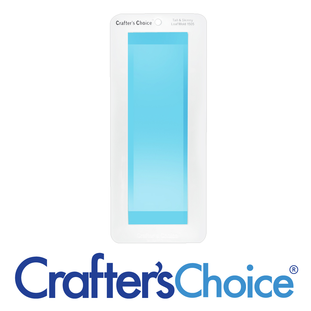 Crafter's Choice Loaf – Tall & Skinny – Clear Silicone Mold – 1505