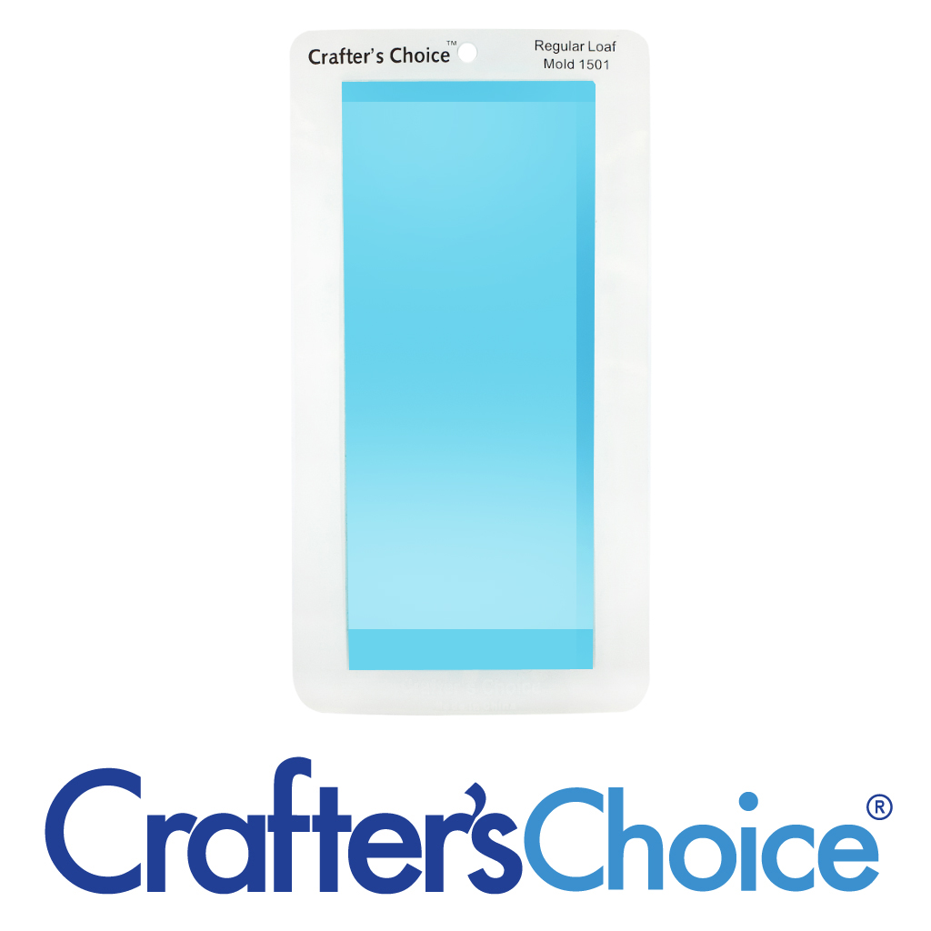 Crafter's Choice Loaf – Regular – Clear Silicone Mold 1501