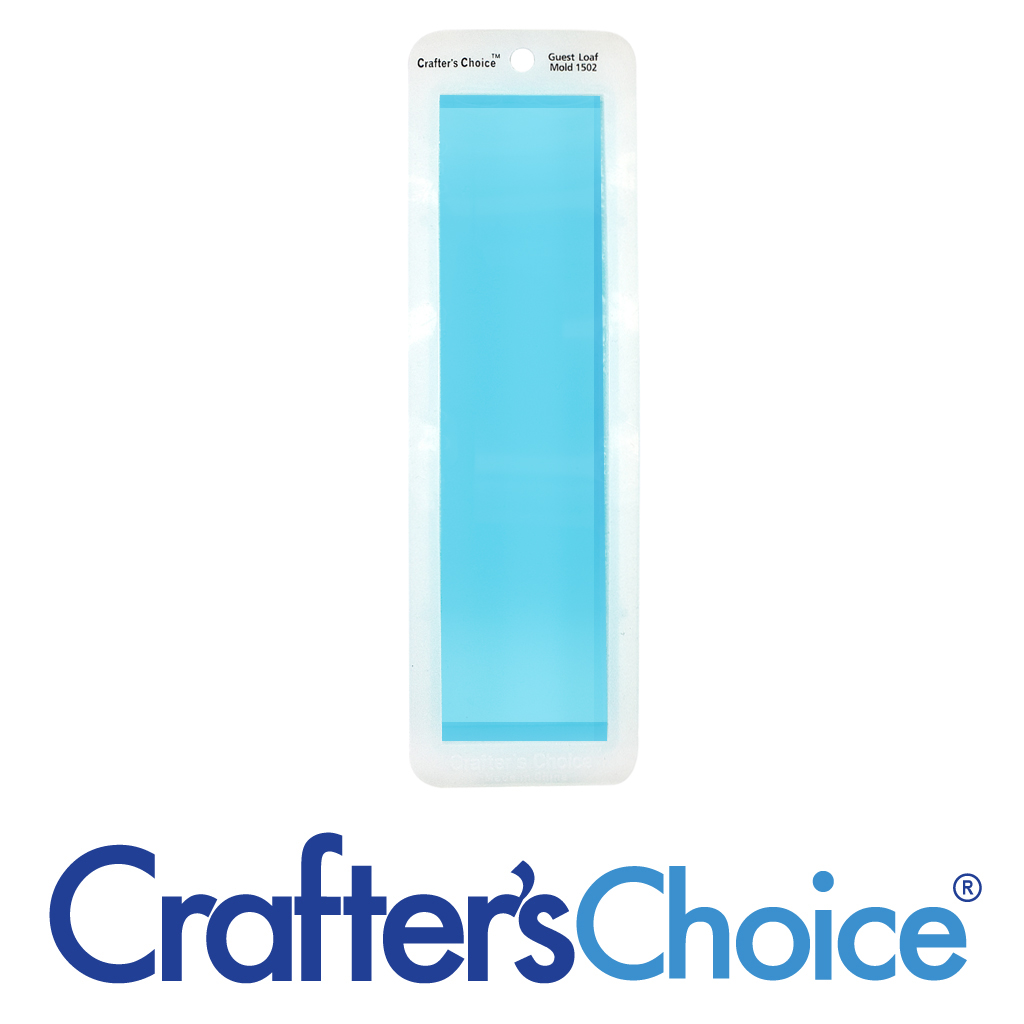 Crafter's Choice Loaf – Guest – Clear Silicone Mold – 1502