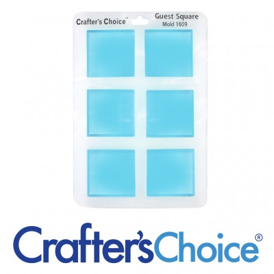 Crafter's Choice - Square Guest Silicone Mold - 1609