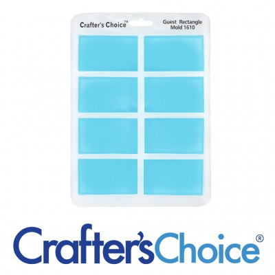 Crafter's Choice - Rectangle Guest Silicone Mold - 1610
