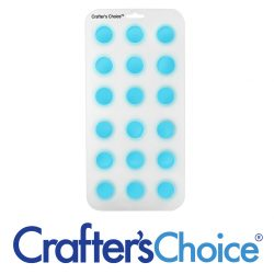 "Crafter's Choice - Round Ball 1-1/4"" Silicone Soap Mold - 1802"