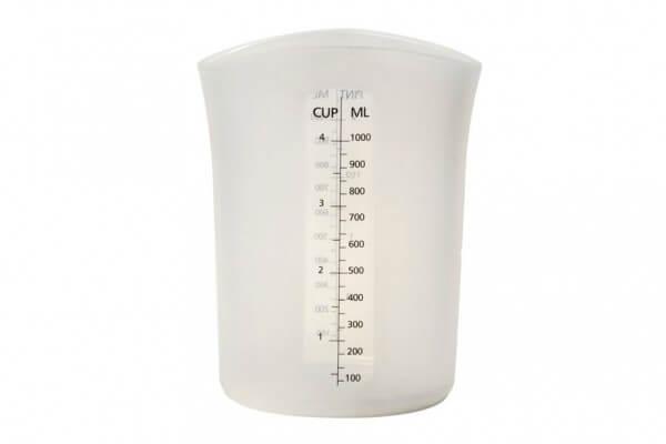 "Silicone ""Stir & Pour"" Measuring Cup (32 fl oz)"