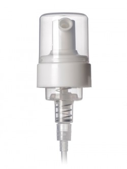 "Foamer Cap - Natural w/ 6.25"" Tube - 43mm"