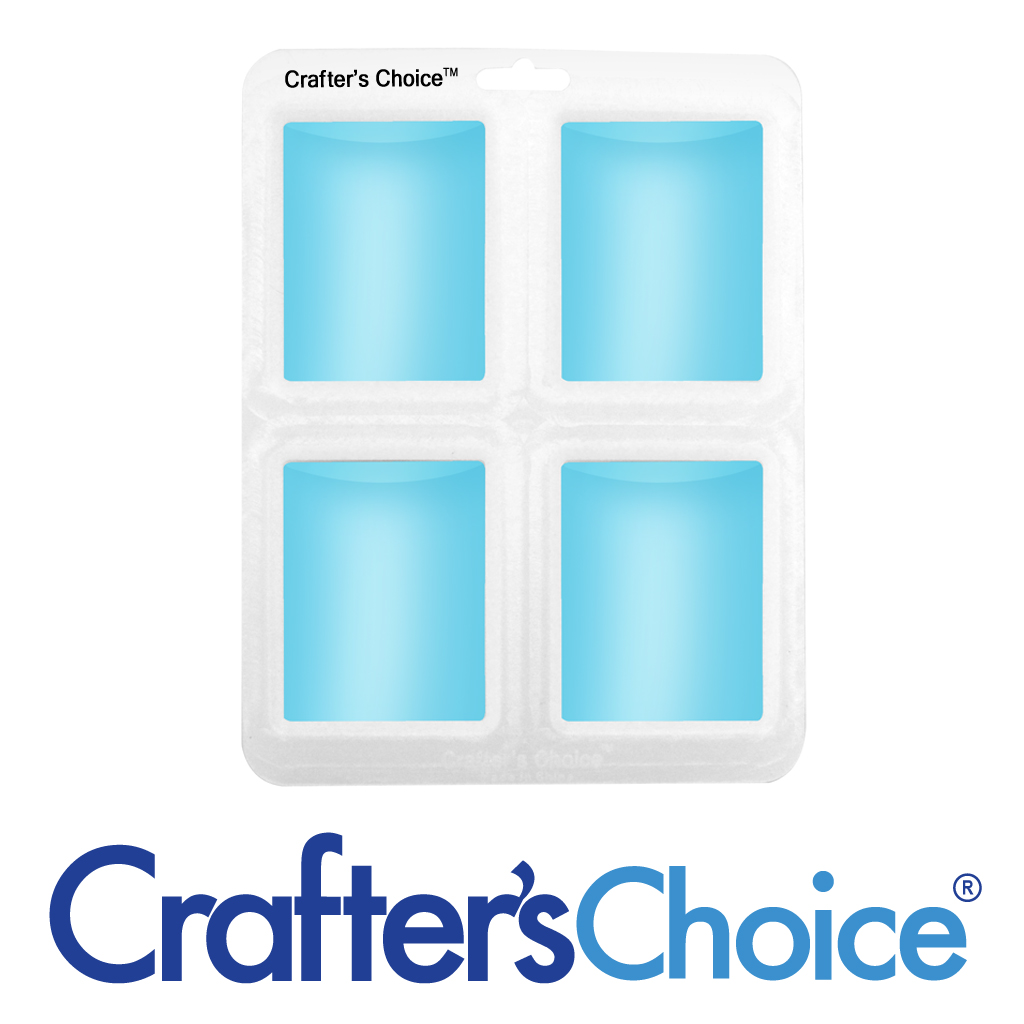 Crafter's Choice – Euro Round Silicone Mold – 1614