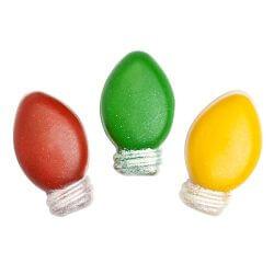 Christmas Bulb (24 mini) Silicone Soap Mold