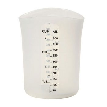 "Silicone ""Stir & Pour"" Measuring Cup (16 fl oz)"