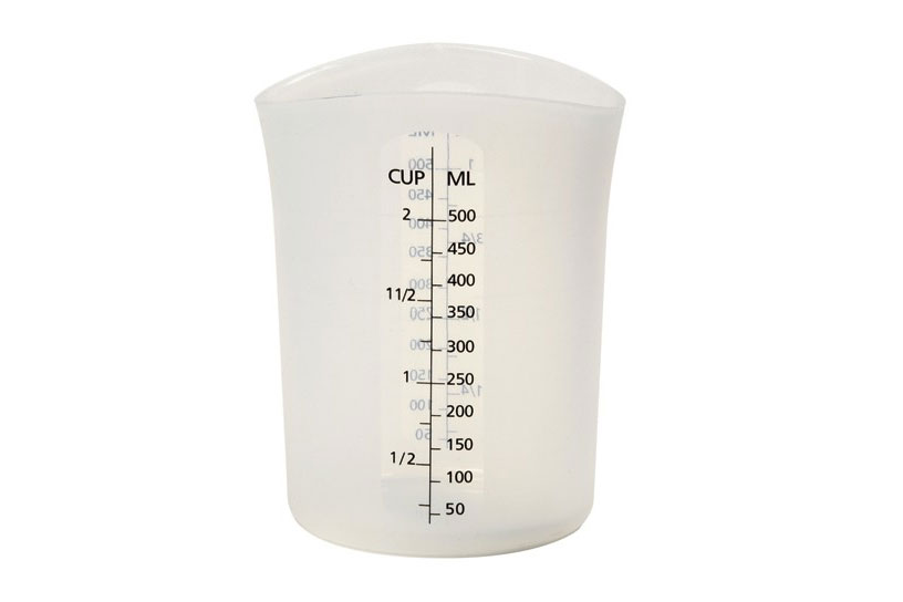 "Silicone ""Stir & Pour"" Measuring Cup (16 fl oz)"