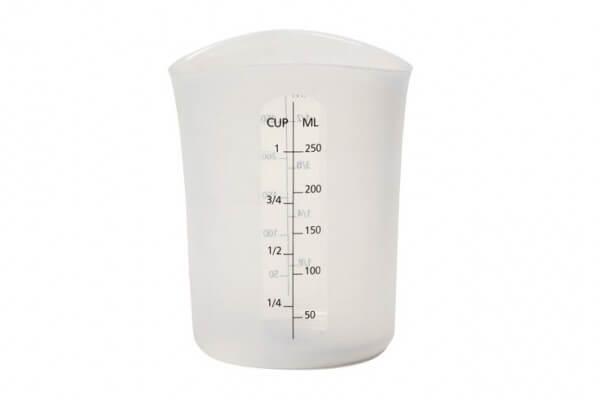 "Silicone ""Stir & Pour"" Measuring Cup (8 fl oz)"