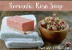 Romantic Rose Soap | @SaffireBlueInc