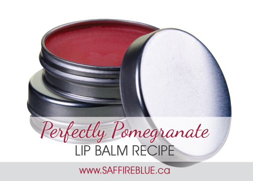 Perfectly Pomegranate Lip Balm Recipe