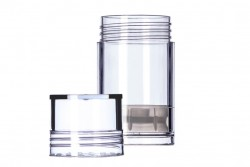Push Up Tube Clear - 1 oz