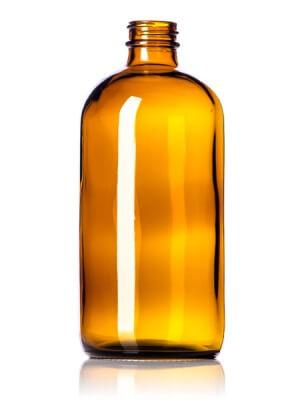 Amber Glass Bottle - 16 oz