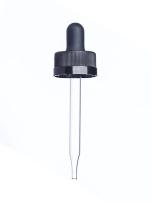 Glass Dropper (Child-Resistant) - 1 oz 20-400
