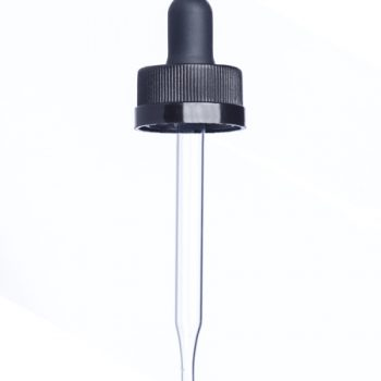 Glass Dropper (Child-Resistant) - 1 oz 20-400