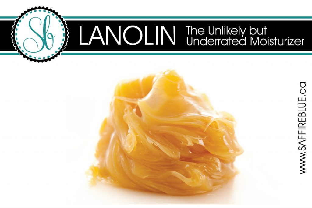 Lanolin - The Unlikely but Underrated Moisturizer