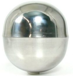 Stainless Steel Bath Bomb Mold - 25 mm (approx. 1 inch in diameter)