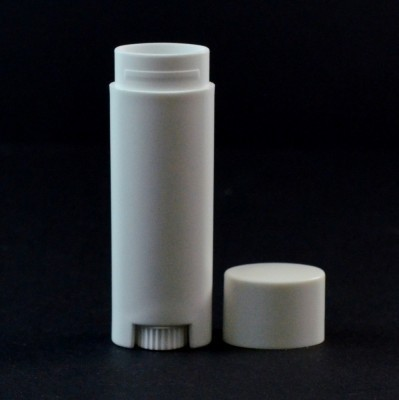 Lip Balm Tubes - Oval - White