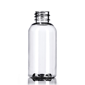Clear Boston PET Bottles